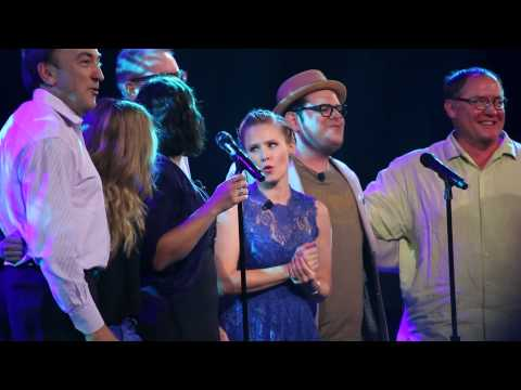 Frozen Cast All Sing - Let It Go Live at D23 Expo2015