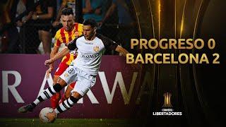 Progreso vs. Barcelona [0-2] | RESUMEN | CONMEBOL Libertadores 2020