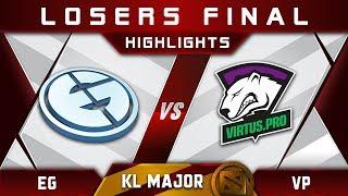 EG vs VP LB Final Kuala Lumpur Major KL Major Highlights Dota 2