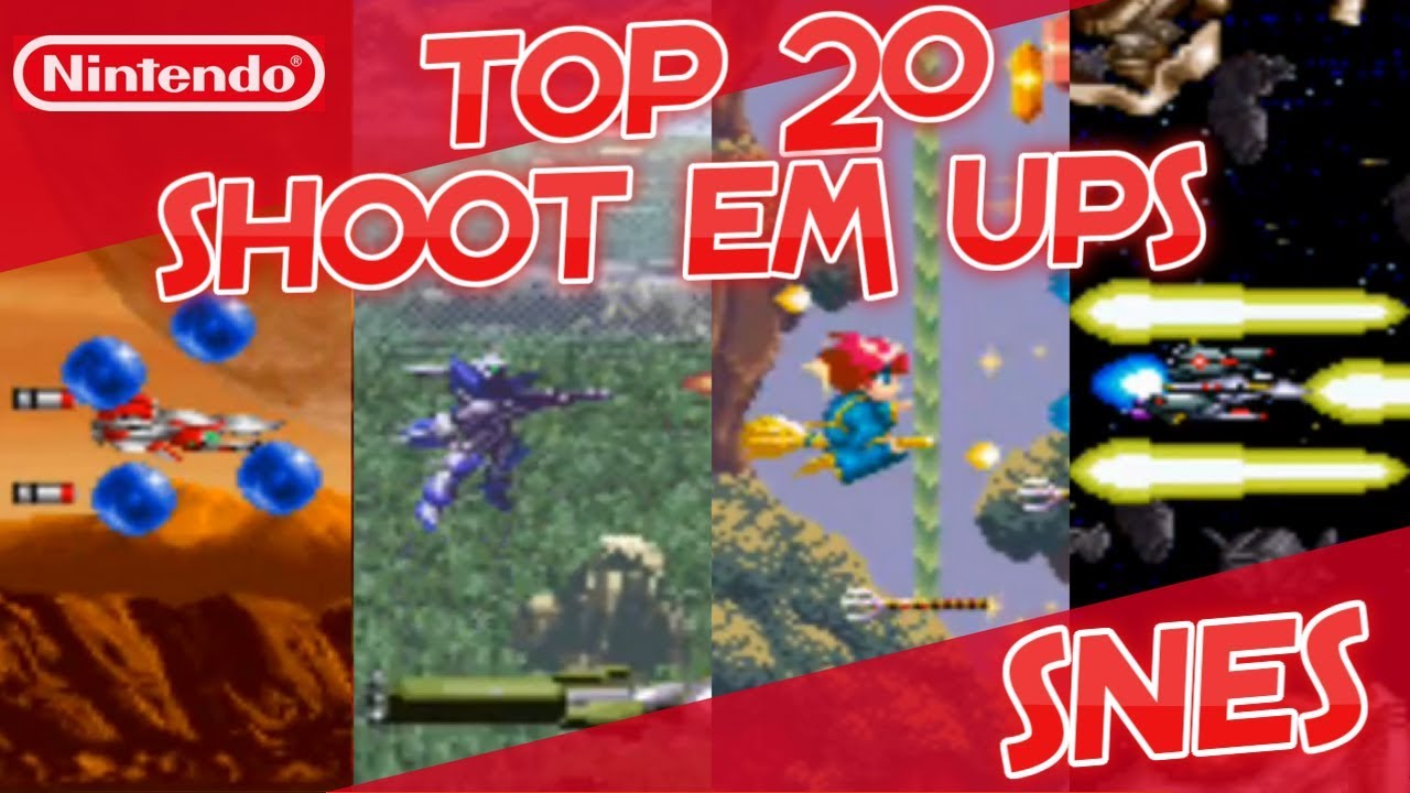 best snes shoot em ups