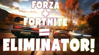 FORZA HORIZON 4 - TEST NOWEGO TRYBU Z FORTNITE! ELIMINATOR!
