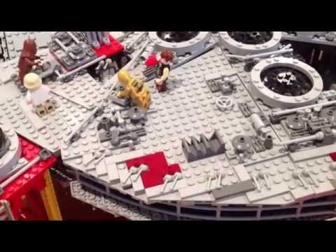 Star Wars Lego (Falcon) Movie: the 10179 build with a difference...