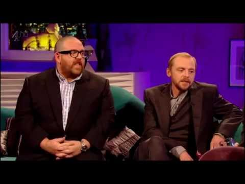 Simon Pegg & Nick Frost on Alan Carr Chatty Man