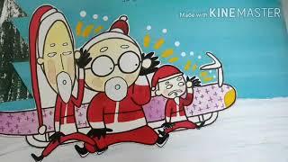 산타들의초콜릿배달 책읽기