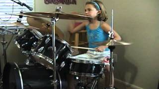 "Alter-Bridge ""Watch Over You"" A Drum Cover By Emily"