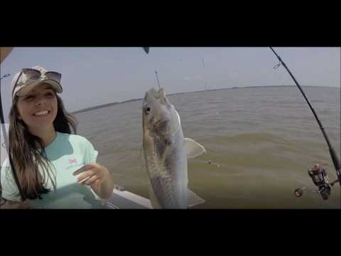 Croaker Fishing April 2017