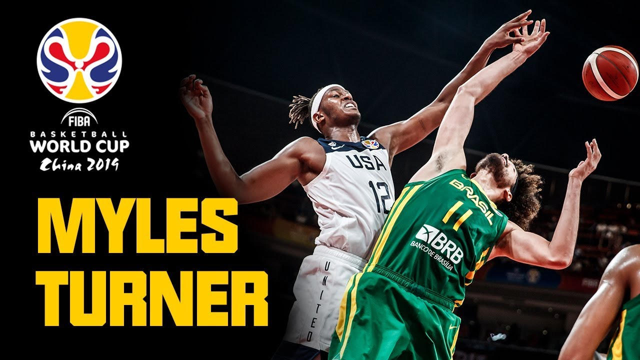 Myles Turner - ALL his BUCKETS & REJECTIONS from the FIBA Basketball World Cup 2019