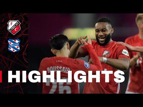 Utrecht Heerenveen Goals And Highlights