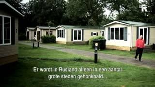 Team Rusland op de camping in Amstelveen