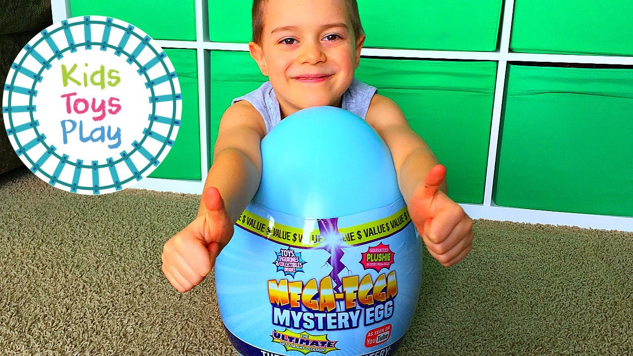 Huge Mega-Egga Mystery Egg Blind Bag Unboxing! What Surprise Toys Are Inside?