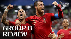 Spain and Portugal go through - Group B Review!