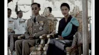 The King and Queen of Thailand