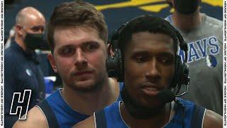 Luka Doncic Videobombs Josh Richardson's Postgame Interview - Mavericks vs Nuggets | March 13, 2021