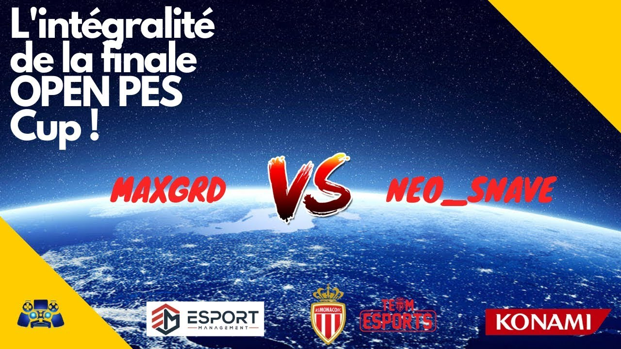 PES 2019 : Finale Open PES Cup - MaxGRD (vert) vs. Neo_Snave (rouge et blanc) !