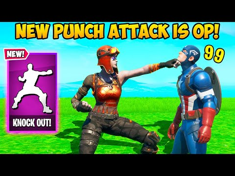 *FIRST EVER* PUNCH ATTACK KILL! - Fortnite Funny Fails and WTF Moments! #969