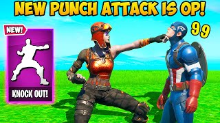 *FIRST EVER* PUNCH ATTACK KILL!! - Fortnite Funny Fails and WTF Moments! #969
