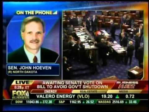 Senator John Hoeven Discusses the Senate