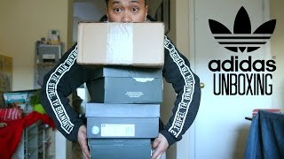 ADIDAS UNBOXING HAUL FOR 2017!!!