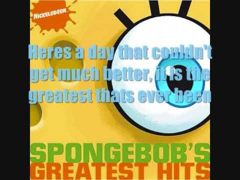 Spongebob Squarepants - A day like this w/ lyrics