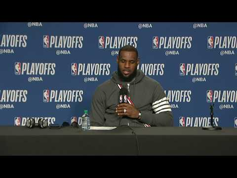 LeBron James Postgame Interview | Cavaliers vs Raptors Game 2