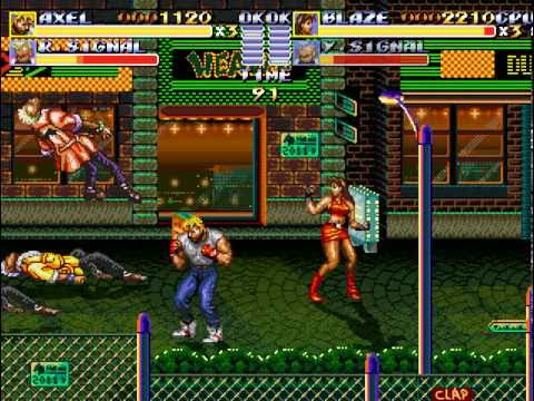 Streets Of Rage Remake Final version (free indie game)