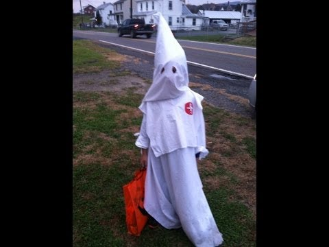 Controversy Surrounds 7-year-old Dressed as Klansman for Halloween