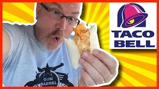 Taco Bell Chicken Sriracha Quesarito Review From Gun Barrel City Texas