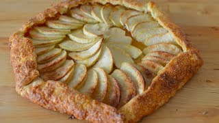 Apple Galette - A Beautiful Concentric Dessert