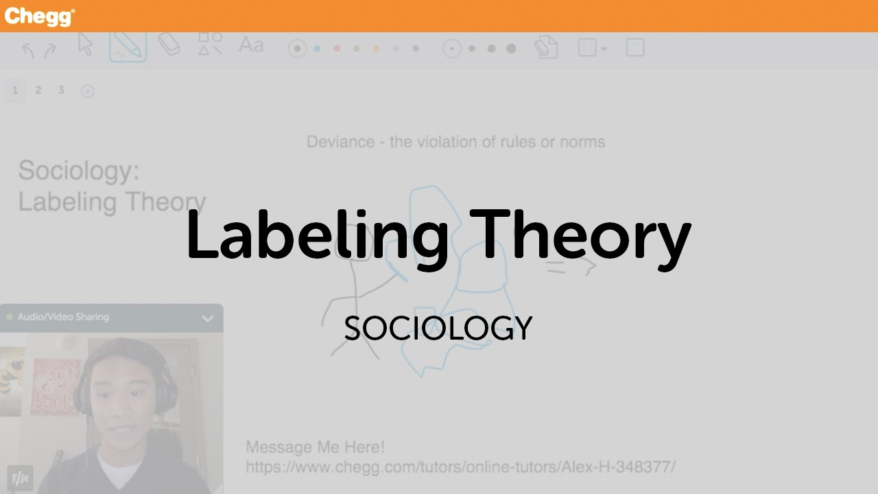 Labeling Theory | Sociology | Chegg Tutors