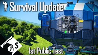 Space Engineers Survival Update - Public Test #1