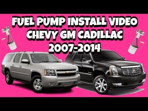 2008 cadillac dts fuel pump
