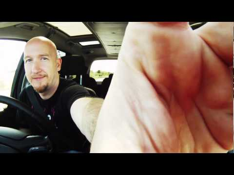 Dan Poole and Giles Terera - TEDx road trip in a Ford Galaxy