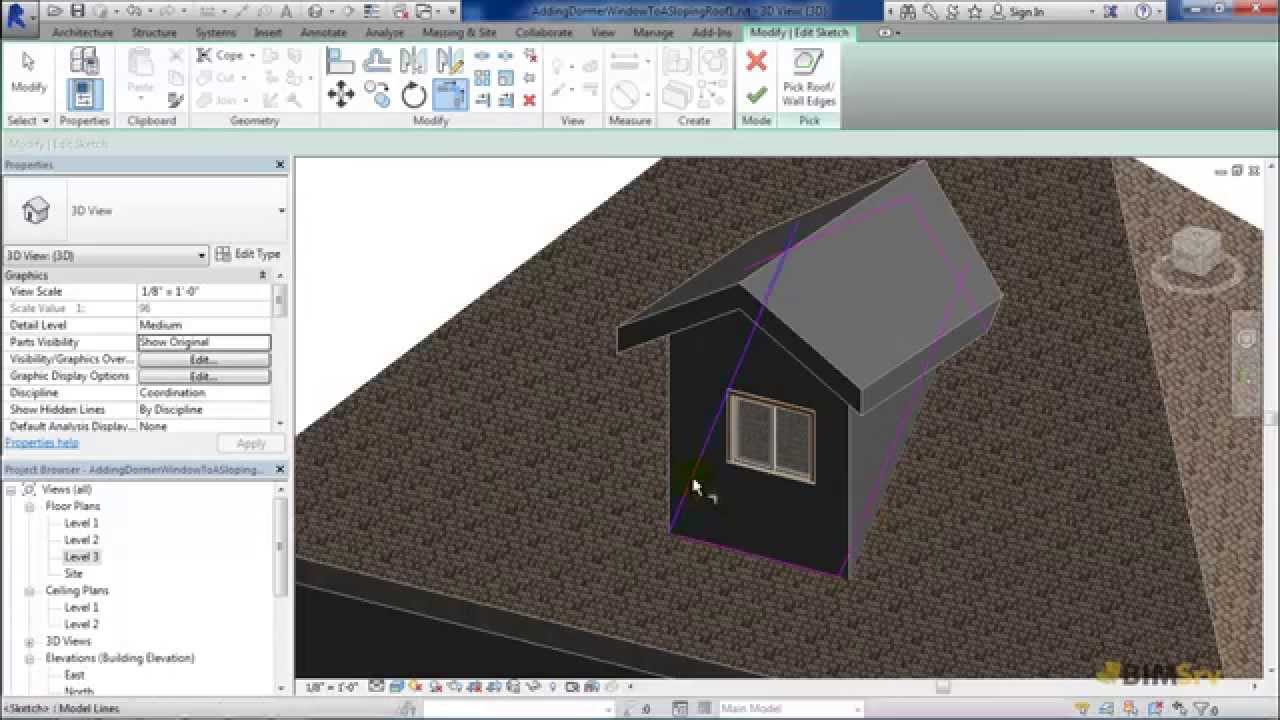 Adding Dormer Window To A Sloping Roof - YouTube
