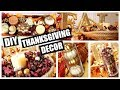DIY Thanksgiving & Fall Decor | Epic Centerpiece, Candle Holders, Personalized Glasses & More!