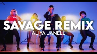 Savage Remix | Meg thee Stallion feat Beyonce | Aliya Janell Choreography | Queens N Lettos