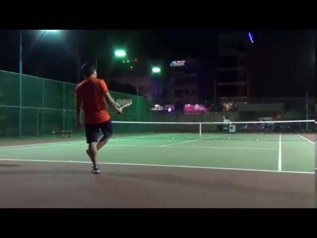 Máy bắn bóng Tennis tự động   T3M   Video Clip   Tennis Shop