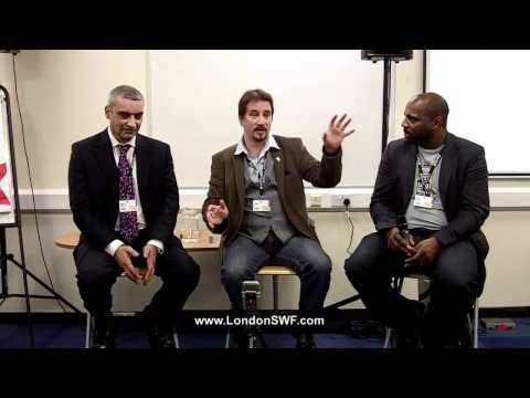 Writing for Comics - Tony Lee, Harry Markos and Iyare Igiehon