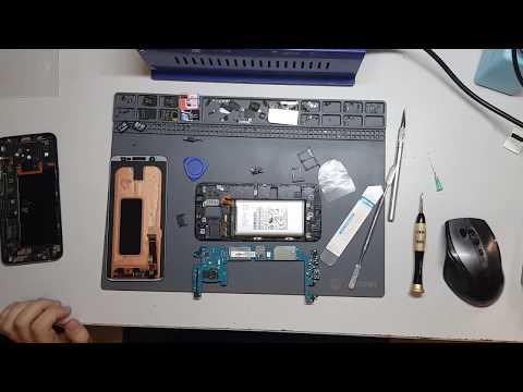 Ремонт Samsung A605F Galaxy A6 Plus 2018 - разборка, снятие дисплея/экрана