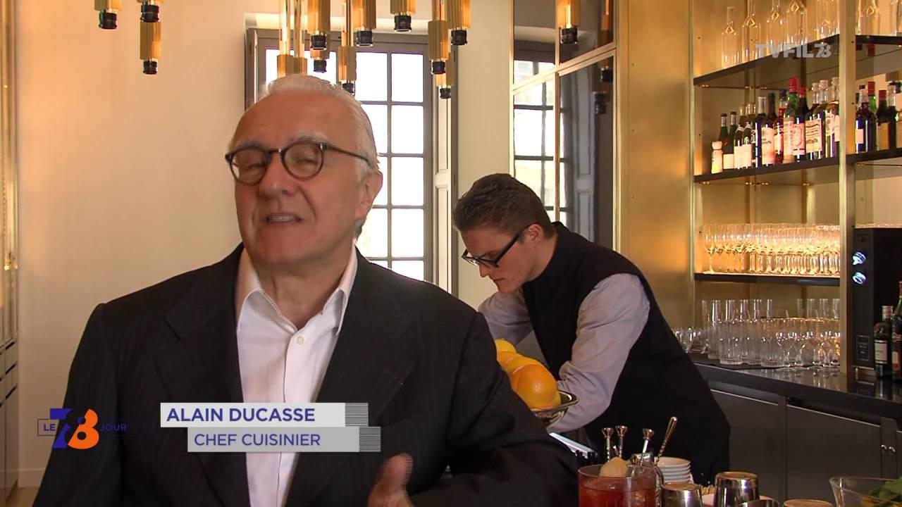 Gastronomie : Alain Ducasse ouvre son restaurant au Château de Versailles