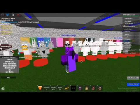 Roblox Animatronic World Rp Secrets Youtube