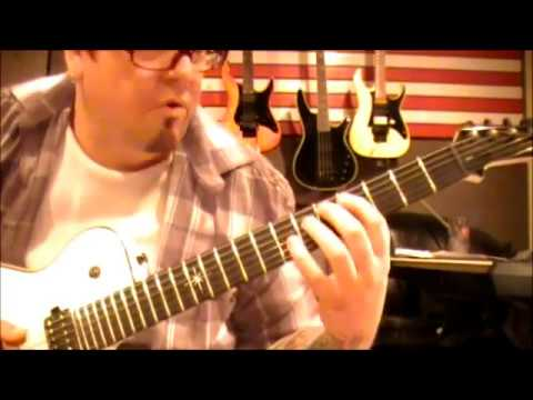 Y&T - Mean Streak - Guitar Lesson by Mike Gross