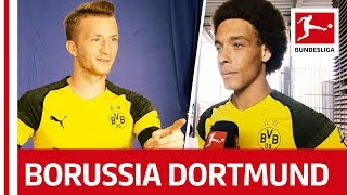 Borussia Dortmund - Behind The Scenes – Reus, Pulisic, Witsel & More