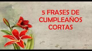 5 Frases De Cumpleaños Cortas Para Dedicar, Feliz Cumpleaños