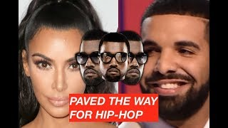 Drake OWES HIS CAREER to Kanye West According To Kim Kardashian Kanye Paved Way For Hip Hop
