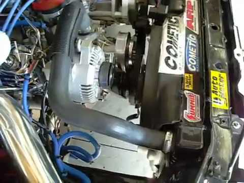 Doing A    3G       Alternator    Conversion    Wiring    on an 8793 Ford    Mustang    fox body 75 Amp to 130   YouTube
