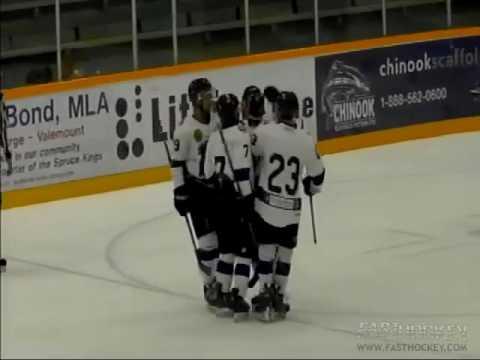 Wenatchee Wild at Prince George - BCHL Hockey 09-16-16