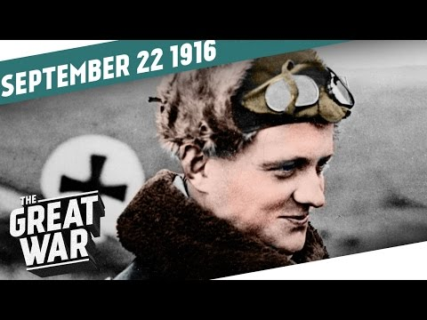 Manfred von Richthofen's First Victory - American Volunteers in WW1 I THE GREAT WAR Week 113