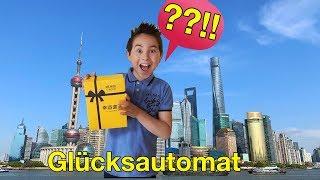 IPhone aus dem Glücksautomat 📱 Allein in China! Disneyland Shanghai | Johann Loop