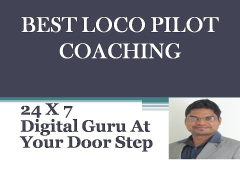 BEST LOCO PILOT COACHING   *JOIN NOW*