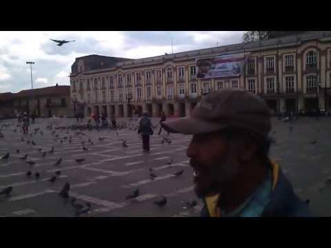 Bolivar Square Bogota, explained by a homeless historian - Plaza Bolivar Bogota, Colombia